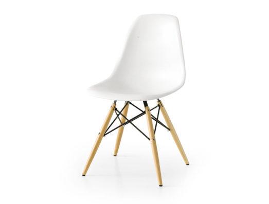 White plastic chair Art.113